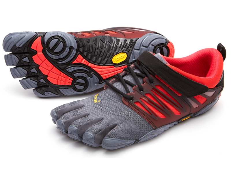 V-TRAIN - Trainings-/Fitnessschuh - grey/black/red clFdE